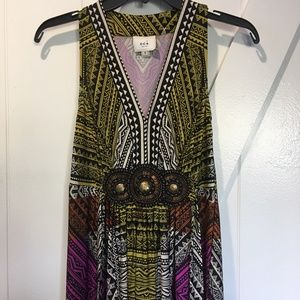ECI New York Multicolor Maxi Dress
